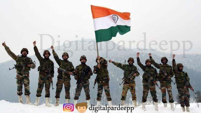 भारतीय सेना ने लद्दाख पर कब्जा कर ,ब्लैक टॉप पर लहराया तिरंगा