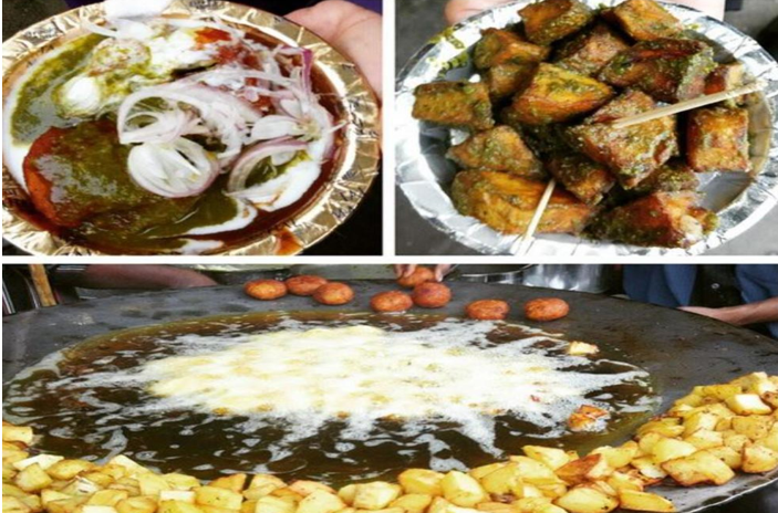 delhi mouth watering dishes