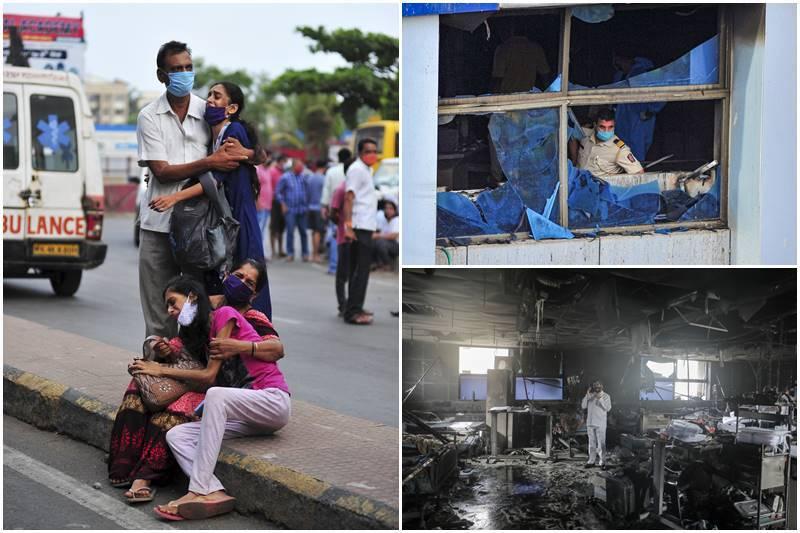 Vijay Vallabh Hospital |  Fire Broke In Mumbai ICU
