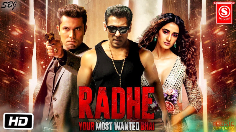 RADHE TRAILER OUT   Latest Movie 2021