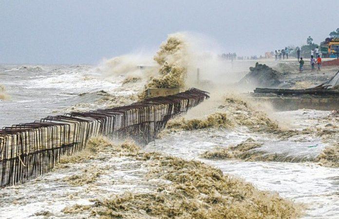 EXTREMELY HEAVY RAINFALL IN ODISHA : CYCLONE YAAS 2021