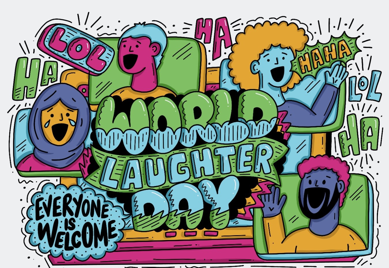 LAUGHTER IS GOOD MEDICINE   World Laughter Day 2021