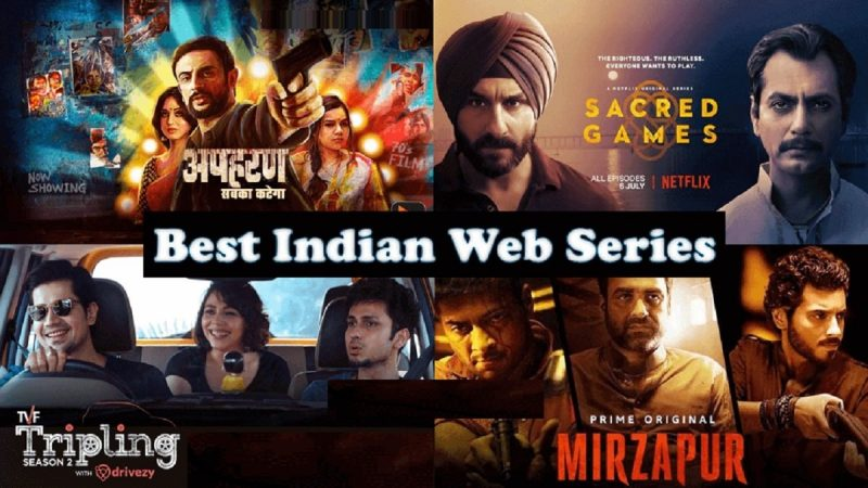 Best 10 Indian Web series To be watch on Netflix