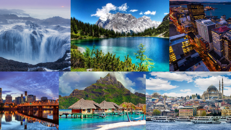 TOP 9 MOST BEAUTIFUL PLACES TO VISIT IN 2022