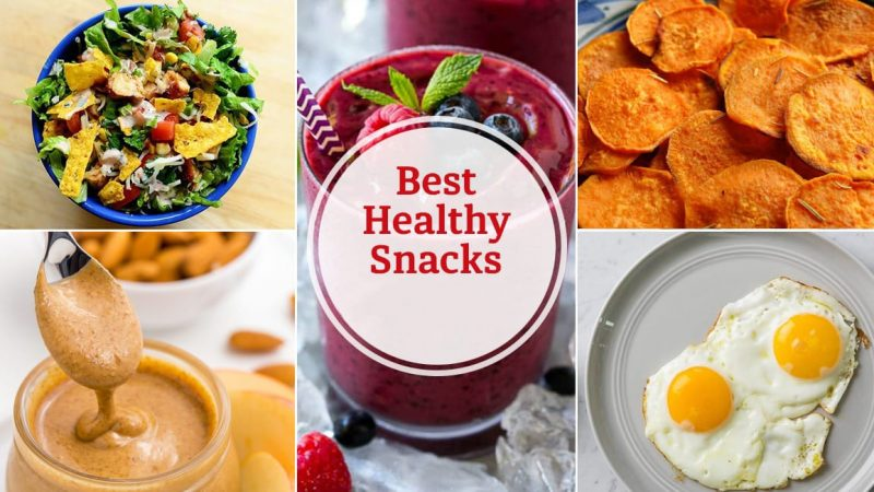 10 HEALTHY SNACK TO KEEP YOUR BODY FIT