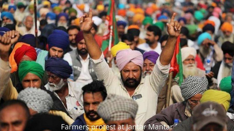 DELHI GOVERNMENT ALLOWS FARMERS PROTEST